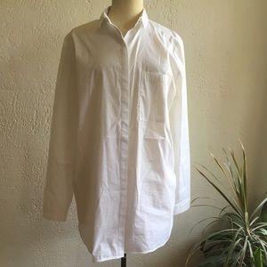 Pristine white blouse